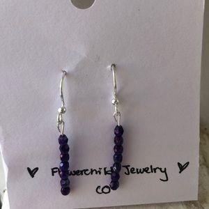 Handmade ❤️ Purple Earrings